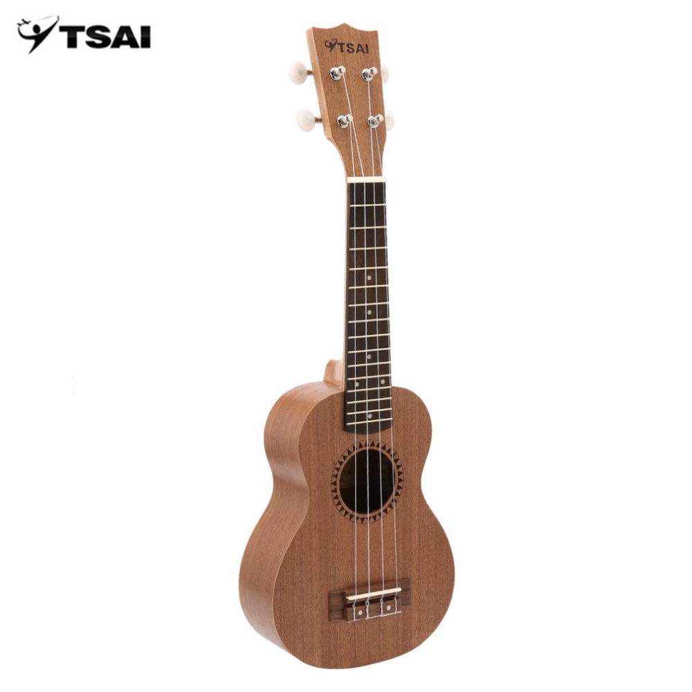 MiTSAI Ukulele Ukulele Sapele Rosewood Fretboard Stringed Instrument 4 Strings Musical Instrument New Year's Day Gift Present hlby good deal 17 mini ukelele ukulele spruce sapele top rosewood fretboard stringed instrument 4 strings with gig bag 2