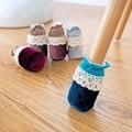 4 Pcs/Set Creative Cute Cloth Round Chair Leg Protector Sofa Table Foot Socks Mat Non-Skid Furniture Foot Sleeve Covers ZHH1063