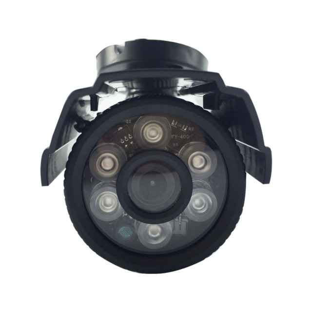 MiNi CCTV Security Camera Outdoor Bullet 700TVL 1/3 Color IR-CUT Filter CMOS 3.6mm Lens 6IR Leds Waterproof Plastic Case