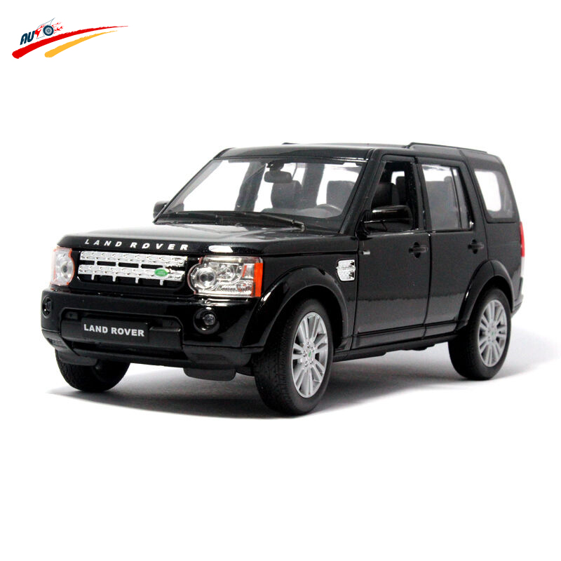 1:24 for LAND ROVER discovery four Alloy Diecast Racing Automotive Mannequin Assortment Pull Again Car Toy Reward for Children Youngsters