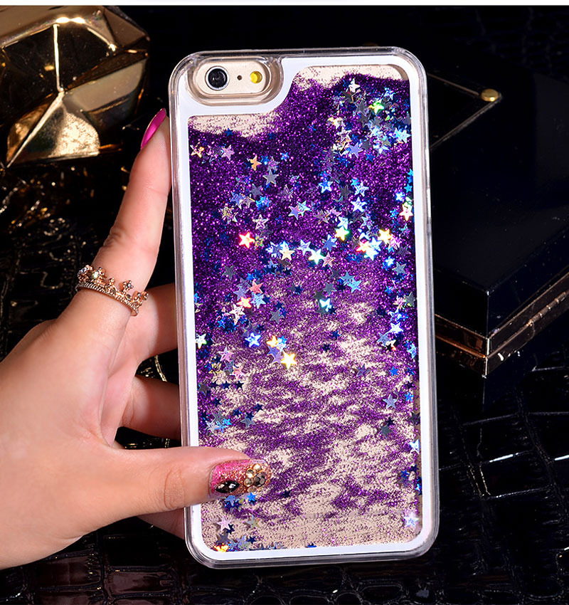 Luxury Fashion Liquid Glitter Sand Star Quicksand Phone Cases Cover For  Apple iPhone 4 4s 5 5s 6 6S 7 6SPlus 7 Plus-in Fitted Cases from Cellphones  ... b51e1eaf7