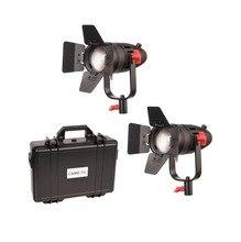 2 個 CAME TV boltzen 30 650w フレネルファンレス focusable の led デイライト B30 2KIT led ビデオライト