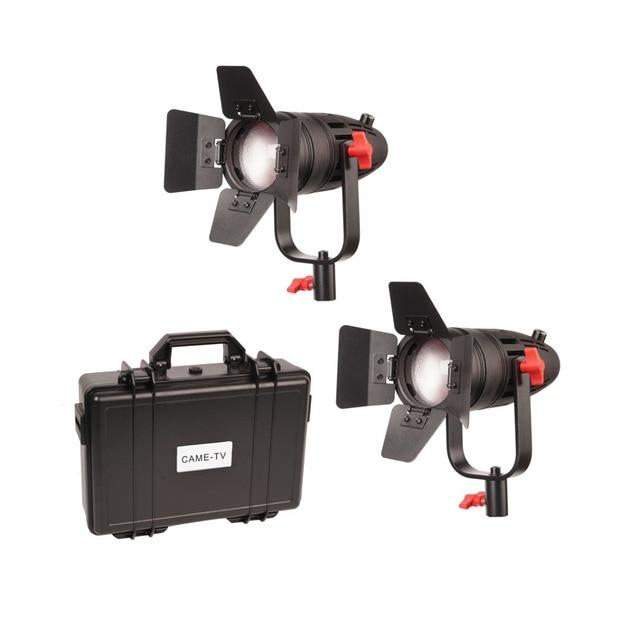 2 Pcs CAME TV Boltzen 30w Fresnel Fanless Focusable Led 일광 B30 2KIT Led 영상 빛