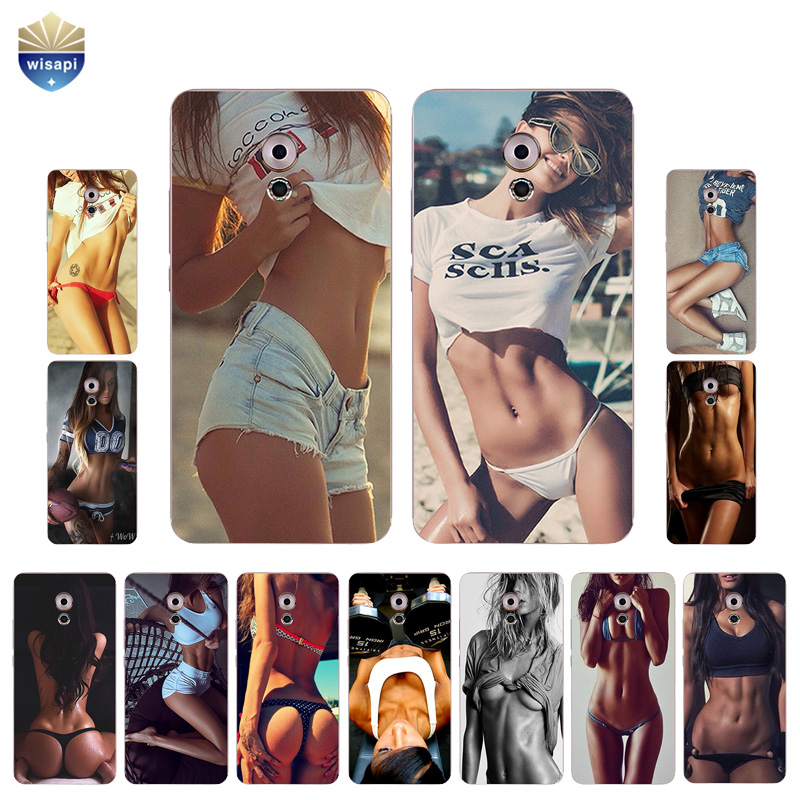 For Meizu Pro 6 / 6S Phone Case For Meizu Pro 5 Shell Pro6 7 Plus Back Cover Soft TPU For Meilan M3X Coque Sexy Body Design