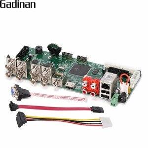 Image 1 - GADINAN 8 Canali 1080N CCTV DVR H.264 Network Video Recorder 16 canale 1080 P NVR AHD/CVI/TVI/CVBS HDMI 5 in 1 DVR Scheda Principale