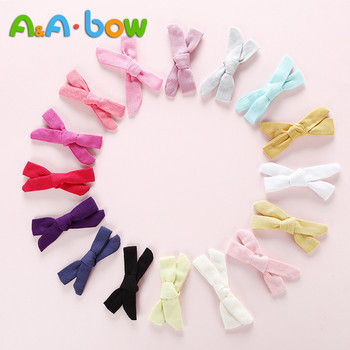 50 pcs lot cute barrette small mini 3cm bow sweet hair clips for girls hair accessories solid dot stripe printing kids hairpins 16pcs/lot Handmade Candy Color Bow Hair Clips For Girls Simple Design Small Hairpins Cute Solid Hair Accessories For Babys