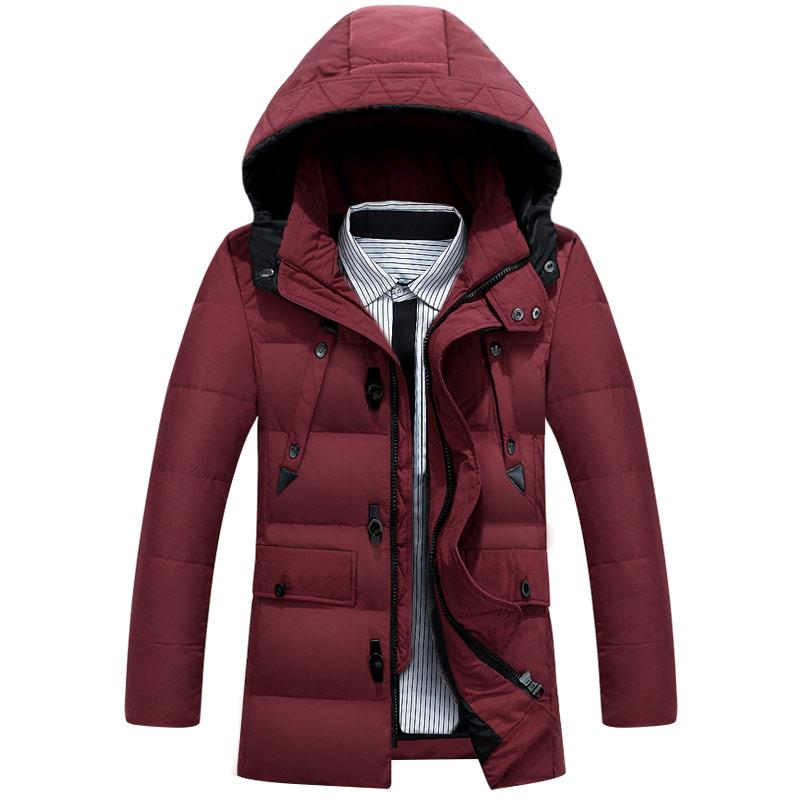 M Manteau Capuche 3xl À Taille khaki Coton Hiver Plus D'hiver La Vestes Black Hommes red Outwear Mâle De rembourré Matelassé Épaississement champagne naCnwxTq0
