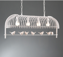 Length 98cm Modern Chandelier Light Nordic Lovely Little Bird Chandelier Light Lighting Fixture Guaranteed 100%+Free shipping!