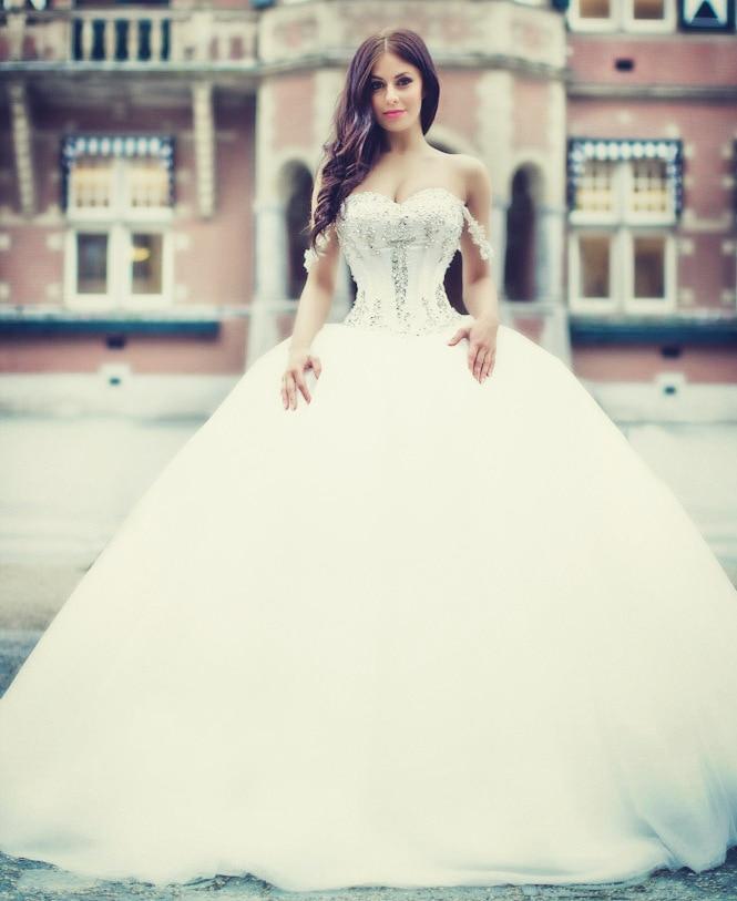 Bien connu Robe de mariage Nouvelle Arrivée Princesse Robe De Mariage 2017  NI22