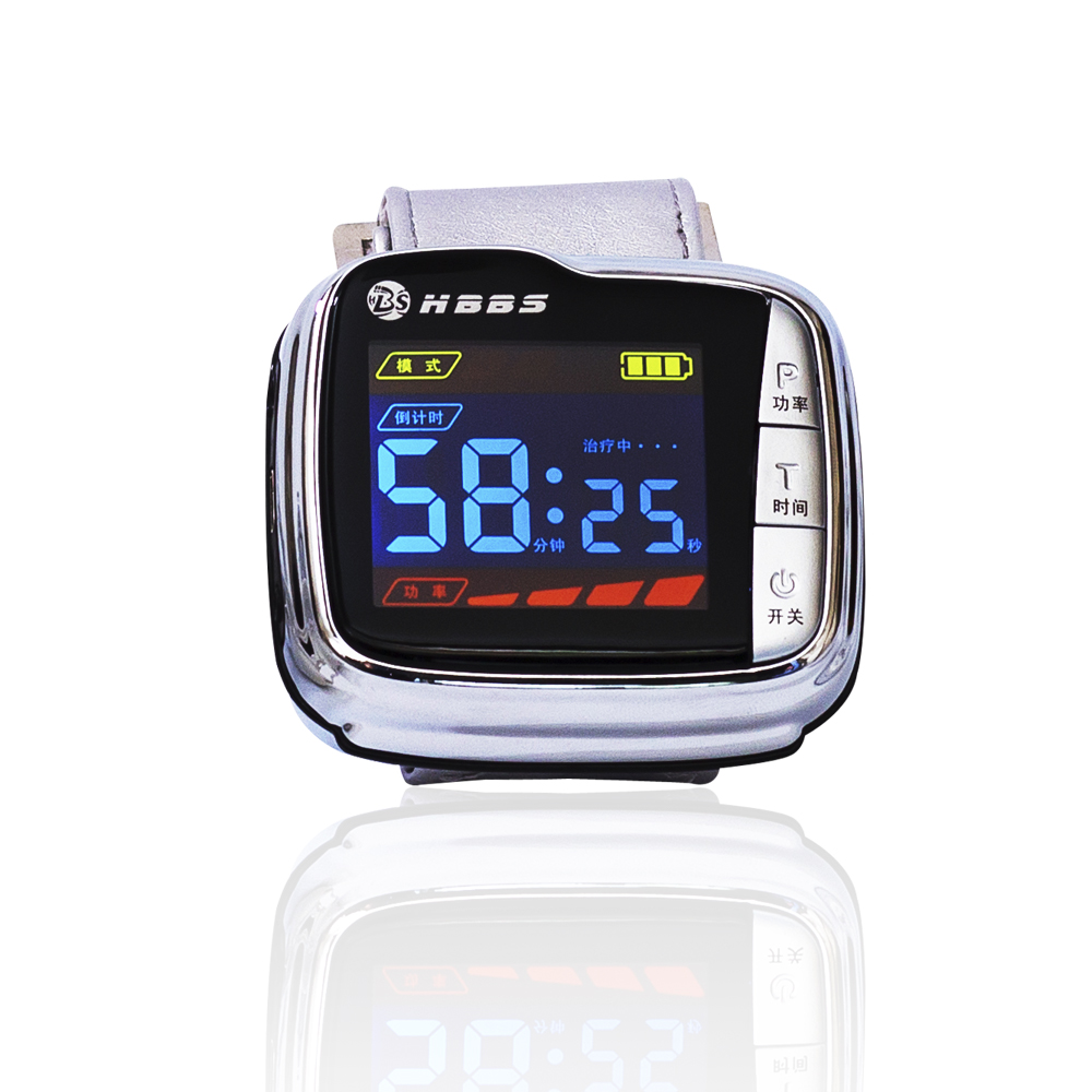 цены  Hot sale wrist type laser watch istrument to reduce high sugar blood health&beauty