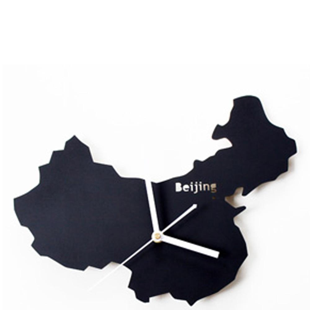 aliexpress com buy world map european vintage modern wall clock