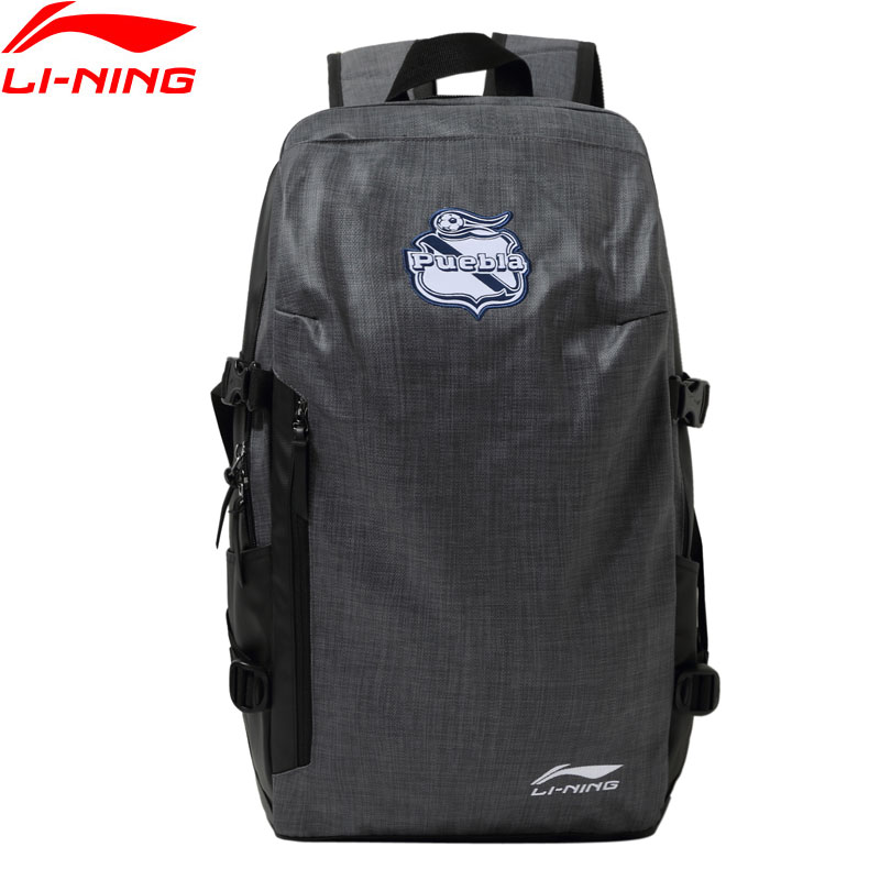 Li-Ning Unisex Puebla Club Backpacks For Gym 300*180*520mm Polyester LiNing Li Ning Sports Training Bags Daypack ABSN099 BBF281
