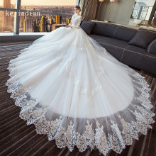 kejiadian long sleeve Ball Gown Wedding Dresses Bridal Gown