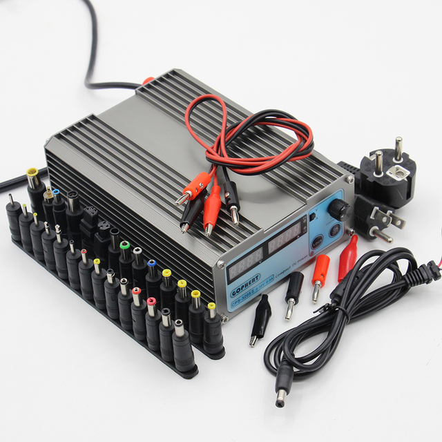 Mini CPS3205II Upgraded version DC Power Supply EU US adapter