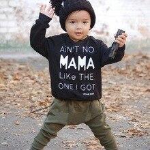 Г. Одежда для маленьких мальчиков хлопковая футболка с длинными рукавами и надписью+ брюки, комплект из 2 предметов, комплекты одежды для маленьких мальчиков