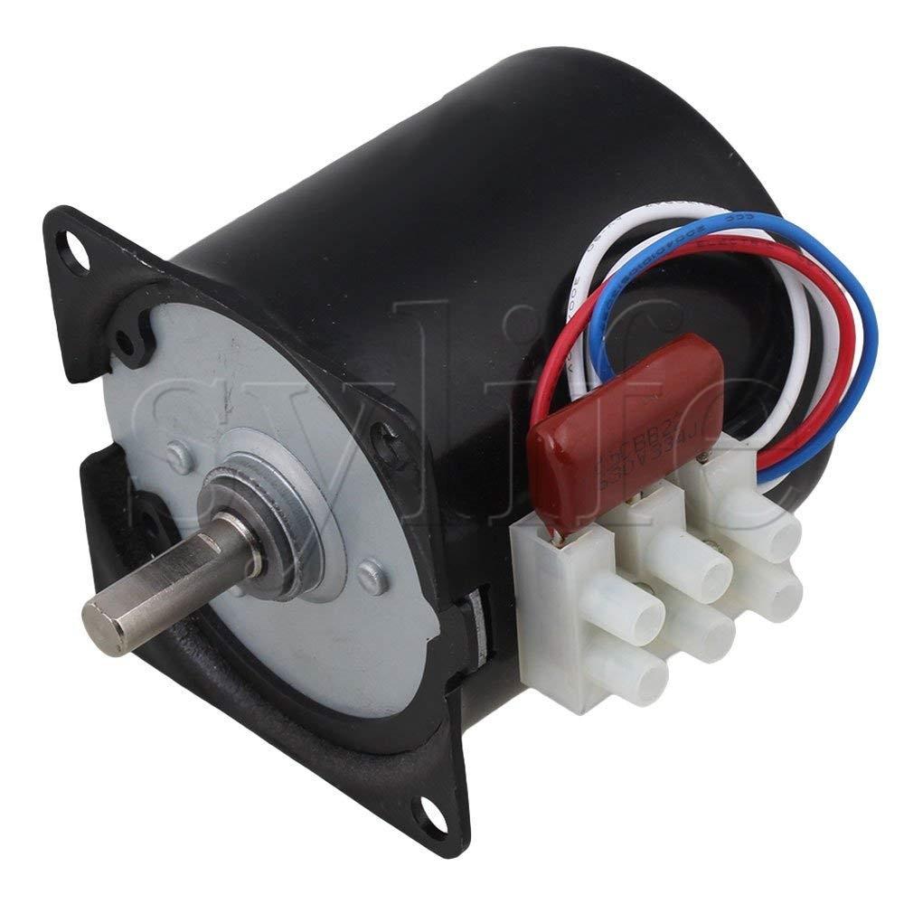 цена на Generic High Torque AC 220V 15RPM Gear-Box Electric Synchronous Gear Motor