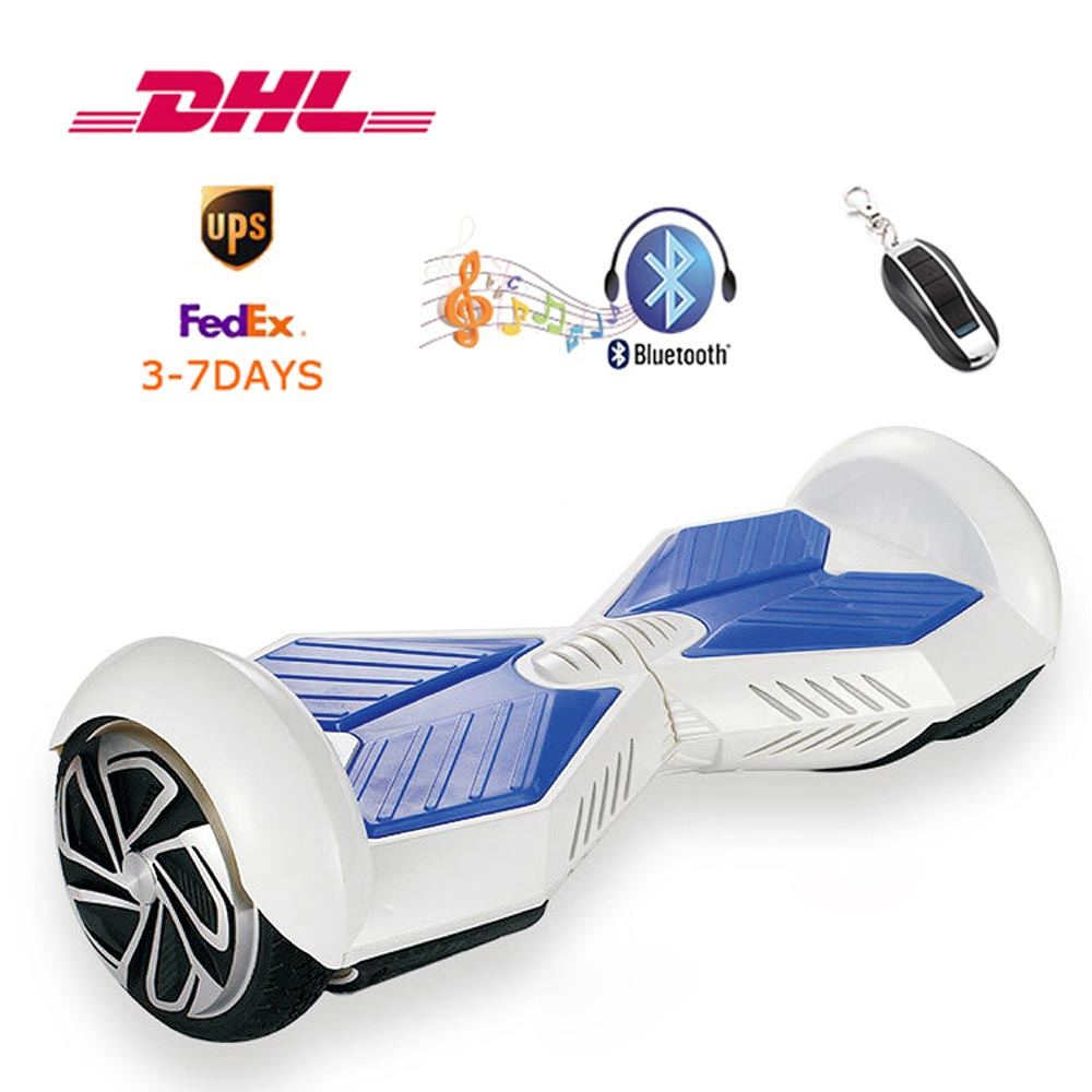 Self Balance Electric Scooter 2 Wheels Bluetooth Hoverboard 6.5 inch...