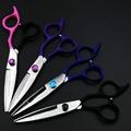 6 polegada de corte de cabelo tesoura, tesouras de cabelo profissional para o cabelo cabeleireiro baber de alta qualidade sus440c, 1 pcs