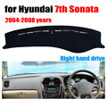 Car dashboard cover mat for Hyundai 7th Sonata 2004-2008 Right hand drive dashmat pad dash cover auto dashboard accessories