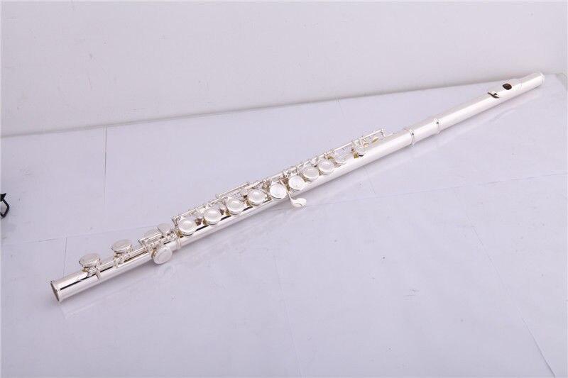 16 οπές κλειστού ασημένιου φλάουτου με - Μουσικά όργανα - Φωτογραφία 1