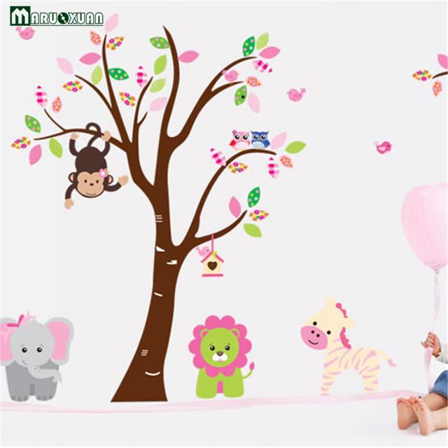 Cute Jungle Animals Tree Monkey