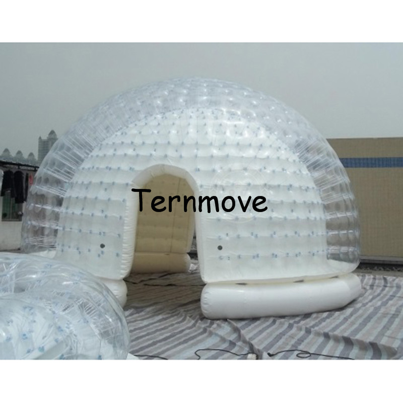 Inflatable clear bubble room-4