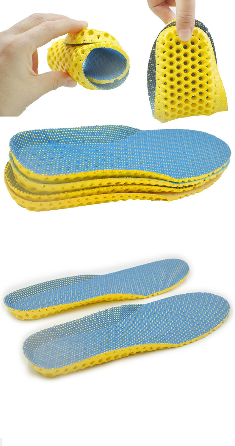 Stretch Breathable Deodorant Running Cushion Insoles For Feet Man Women Insoles For Shoes Sole Orthopedic Pad Memory Foam
