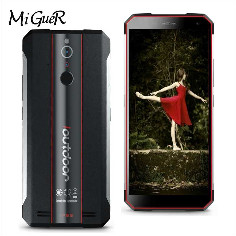new arrival 46ff6 bae58 Ioutdoor X IP68 Waterproof Global 4G LTE Mobile Phone 6GB+128GB 5.7''HD  Android 8.1 Octa Core MTK6763 3400mAh Face ID Smartphone