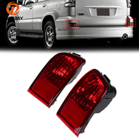 POSSBAY Tail Light Reflector Warning Fog Lights For Toyota Land Cruiser Prado J120 GRJ120 TRJ120 FJ120