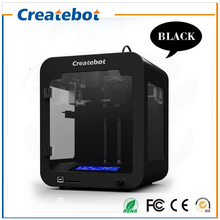 Build size 85*80*94mm High Quality Precision LCD Createbot Super Mini 3d Printer kit with PLA Filament 1GB SD card for free
