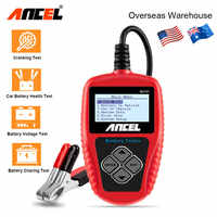 Ancel BA101 Car Battery Tester 12V Digital Battery Tester Analyzer 100 2000CCA 220AH with Japanese Korea French Car Diagnostic