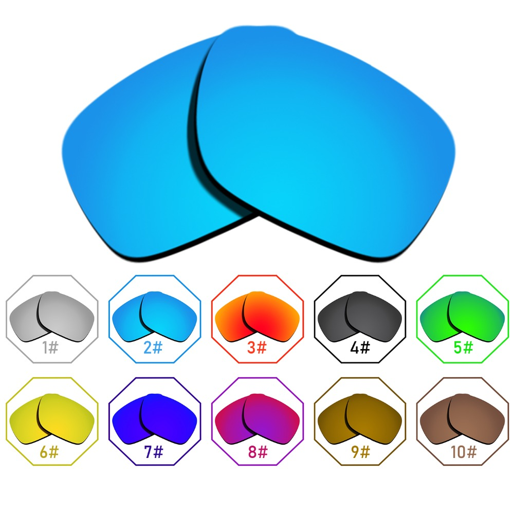 Polarized Replacement Lenses for Holbrook Frame - Many Colors Anti-reflective Anti-water Anti-scratch