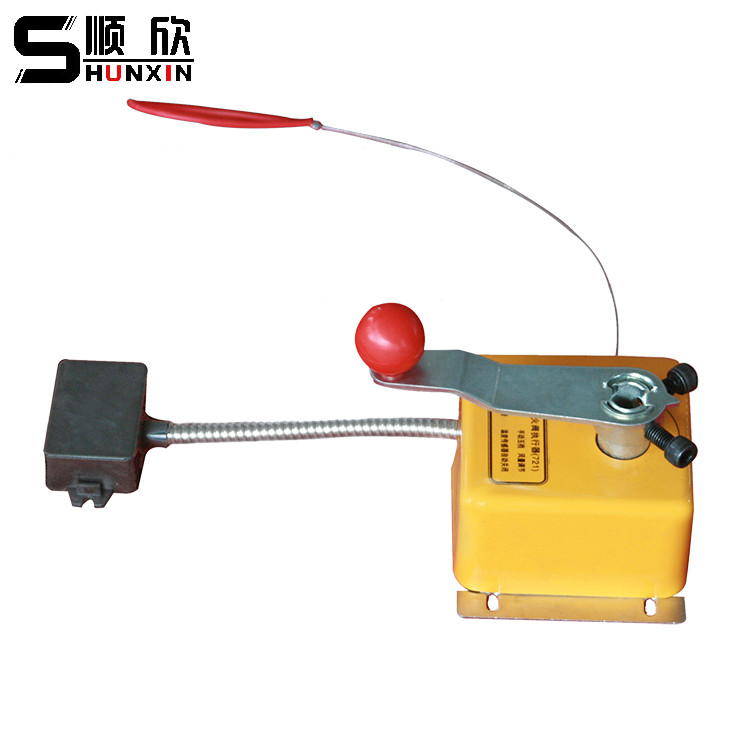 SFW-721 Manual Smoke Control Fireproof Valve Actuator Five Piece Air Volume Adjustment Hand Pull Rope Closure flight volume five
