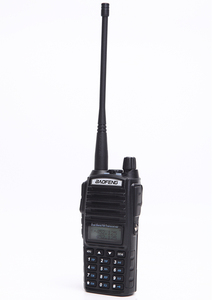 Image 3 - Baofeng UV 82 walkie talkie 10 km dual PTT a due vie wireless dual band tenuto in mano portatile UV 82 ricetrasmettitore