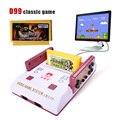 Reproductor de Vídeo de alta calidad Retro clásicos de consolas de videojuegos 400 jugar juegos de tarjeta + tarjeta original dos tarjeta de TV juego jugador