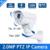 1080 P 2.0MP Bala Zoom Óptico de 10X Lente Motorizada Mini PTZ Câmera IP Bala, Com Poe, Alarme em, entrada de áudio, Slot Para Cartão SD Embutido