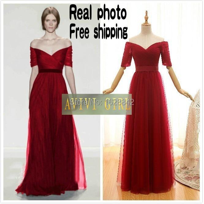 Vestidos De Fiesta En Color Rojo Quemado Hermosos Vestidos