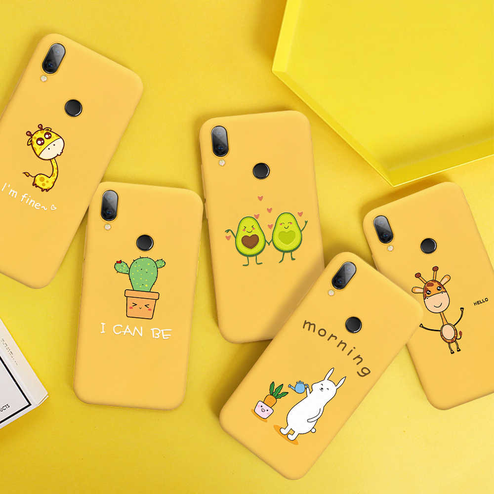 Phone Case For Xiaomi Redmi Note 7 6 5 Pro Mi9 SE Mi8 Lite Soft Silicone Cover For Redmi 7 7A 6 Pro Note7 Cute Rabbit Case Coque