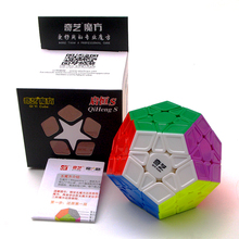 Qiyi Qiheng Megaminxeds Magic Cube Wumofang Stickerless 12 Sides Speed Puzzle Cubo Magico Educational Toys For Children