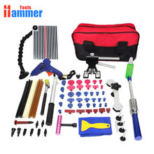 PDR Tools For Dent Removal Paintless line board Reflector Dent Repair Tools Hammer Glue Tabs Glue glun