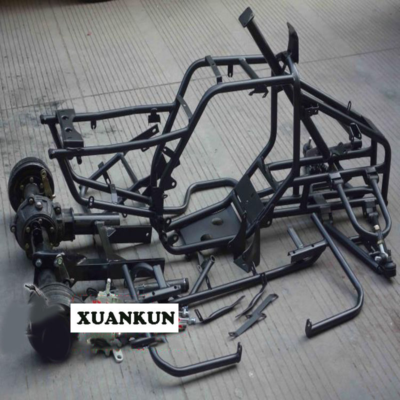 где купить XUANKUN  DIY Four Wheel Car Modified Accessories Beach Car Full Frame Axle Drive Drum Brake Rear Axle Arm по лучшей цене