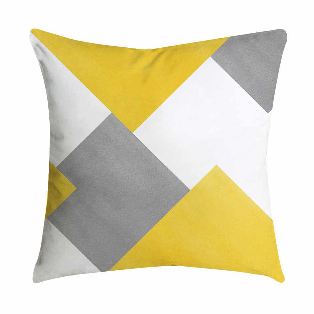 Cojines лист ананаса желтый бросок наволочки для диванной подушки Автомобильная подушка под поясницу чехол домашний декор Kussenhoes Housse de Coussin наволочки