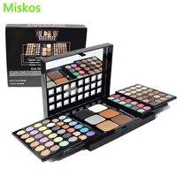 Makeup Set Kit Maquiagem 78 Color Professional Eye Shadow Powder For Face Brushes Shimmer Eyeshadow Pallete