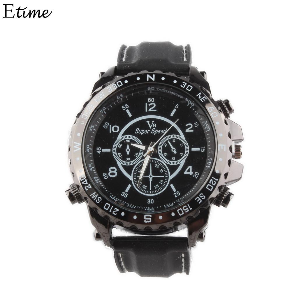 Flight Tracker Fanala Watches Men Sporting Fashion Design Round Dial Pointer Buckle Quartz Watch Men Relogio Masculino Men's Watches