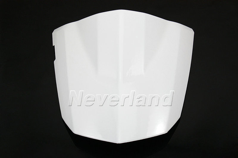 ФОТО New Arrival White Motorcycle Rear Seat Cover Cowl For Suzuki GSXR GSX-R 600 750 K4 2004-2005 04 05 #70C20 Free shipping