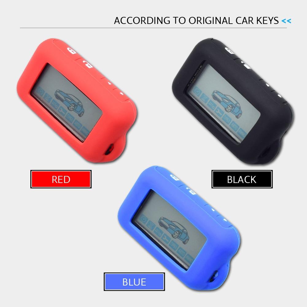 ATOBABI E90 E91 Funda de silicona para alarma de automóvil de 2 - Accesorios de interior de coche - foto 5