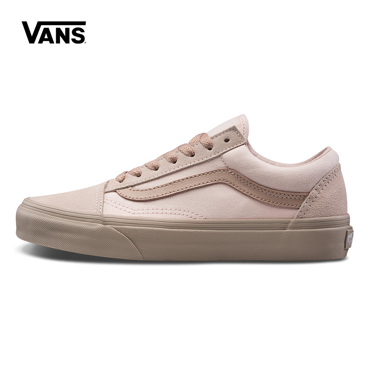 Original Vans Autumn New Old Skool Small Fresh Women Shoes Low Help Skateboarding Shoes Sports Canvas Shoes Sneakers VN0A38G1QVM