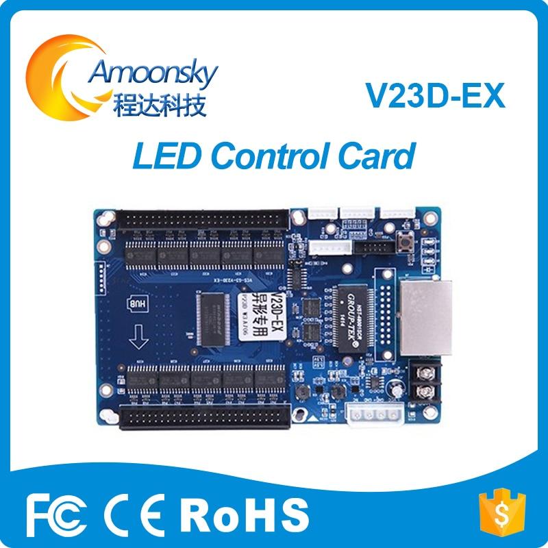 V23D-Ex Led Control Card Led Receiving Card For Cubic Dj Ball Led Display