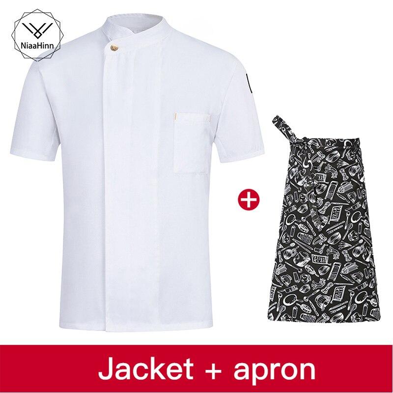 Chef Overalls Hotel Uniform Restaurant Uniform Uniforms For Waiters Chef Coat Women Chef Jacket Restaurant Kitchen Uniforms