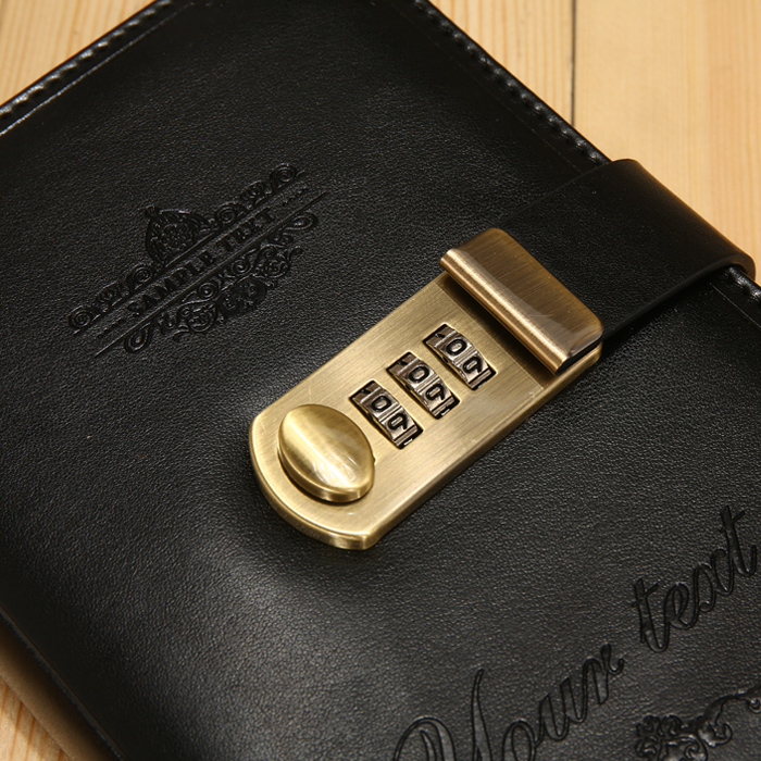 Best Price 639b Ruize Creative Password Dairy With Lock A5